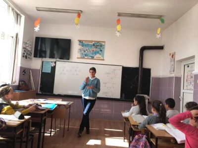 Открит урок - ОУ Св. Св. Кирил и Методий - Манолич, Сунгурларе